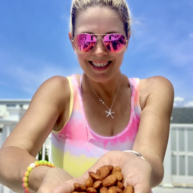 Ashley Slaughter with Cayenne Lime Almonds